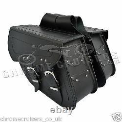 Cuir Moto Sacoches Sacoche Harley Davidson Sportster XL883 1200 C13A