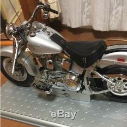 Deagostini Harley Davidson Fatboy Miniature 1/4 Echelle Fini Produit Japon Toy