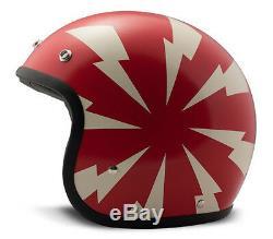 Dmd Vintage Bang Casque à profil bas Cafe Racer Harley Davidson Triumph