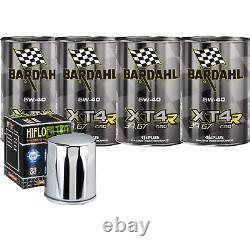 Entretien Huile Bardahl XT4-R 5W40 pour Harley Davidson Road King Classic 0718
