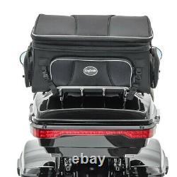 Feux arrière a LED pour Harley-Davidson King Tour Pak Topcase 14-20 rouge