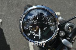 GPS Compteur de Vitesse pour Moto Dyna Chopper Bobber Café Coureur