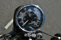 GPS Compteur de Vitesse pour Moto Dyna Chopper Bobber Cafe Racer