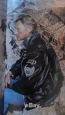 Harley Davidson Blouson Avirex Johnny Hallyday Etat Neuf Vintage Perfecto Moto