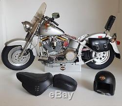 HARLEY DAVIDSON MOTO FLSTF Fatboy 1/4 POID 5.8 KG- BIEN LIRE POUR L'ENVOI