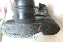 HARLEY DAVIDSON botte moto coquee brodee sur tige cuir