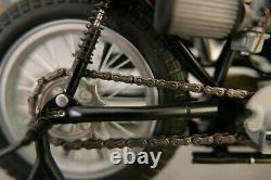 HARLEY DAVIDSON époque AMF XR 750 1972 DIRT TRACK échelle 1/10è en métal