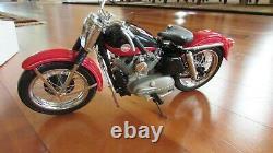 Harley Davidson 1957 XL Sportster Franklin Mint Précision Modèles 110 Echelle