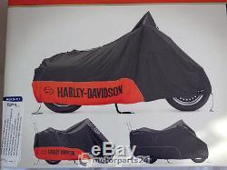 Harley Davidson Béquille & Shield Bâche Bâche Pour Moto Bâche Intérieur 93100018