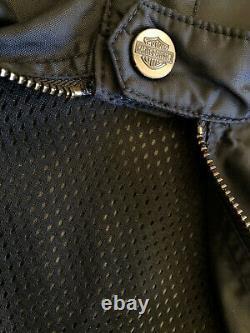 Harley-Davidson BLOUSON de MOTO veste/gilet BIKER légère sans manches NEUF