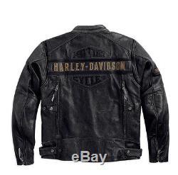 Harley-Davidson D H Veste en cuir Moto EN PASSANT Taille XL 98074-14VM/002L
