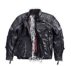 H Taille Fxrg Longue Harley Cuir Xl Davidson 98095 Moto En Veste D E7wpwq8