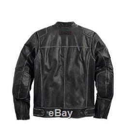 harley davidson d h veste pour moto lonestar cuir taille l 98075 14vm 000l. Black Bedroom Furniture Sets. Home Design Ideas