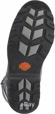 Harley-Davidson D93370 Homme Boxbury Cuir Bottes de Moto Toutes les Tailles