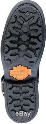 Harley-Davidson D95262 Scout Homme 17.8cm Cuir Noir Moto Bottes Équitation
