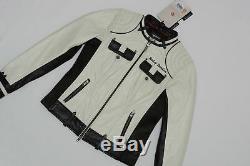 Harley Davidson Femmes Amelia White Veste Cuir 98072-14vw XS S M XL 2XL 2w