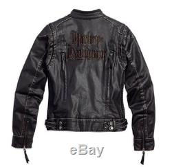 Harley-Davidson Femmes Veste de moto enrobé Textile 97100-16VWith000M Taille M