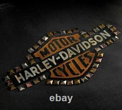 Harley-Davidson Femmes avec Clous VINTAGE à Capuche 99129-20VW Noir Sweat