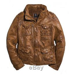 Harley-Davidson Femmes veste en cuir Cognac Moto 97153-16VWith000L Taille L