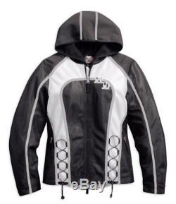 Harley-Davidson Femmes veste tissu EVERMORE Moto 97131-16VWith000M Taille M