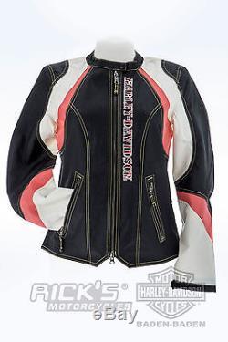 Harley-Davidson Femmes veste tissu STARLESS Moto 97133-16VWith000M Taille M