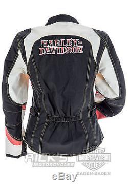 harley davidson femmes veste tissu starless moto 97133 16vwith000s taille s. Black Bedroom Furniture Sets. Home Design Ideas