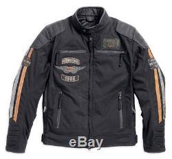 Harley-Davidson Fonction ESCAMOTABLE Veste moto Taille XL 97110-16VM/002L
