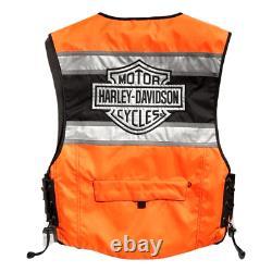 Harley-Davidson Gilet Moto Haute Visibilité 98157-18EM Hi-Visibility Reflective