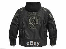 Harley Davidson Homme Combustion Interne Veste Cuir M L 3XL Lt 97093-16VM