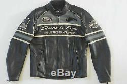 Harley Davidson Homme Screamin Aigle Tonnerre Valley Veste Cuir 98297-08VM M
