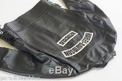 Harley Davidson Homme USA Fabriqué Épuisement Cuir Vieilli Veste 97047-05VM XL