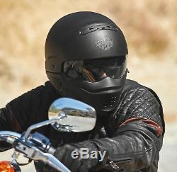 Harley Davidson Homme Varick Ailé B&S Noir Veste Cuir L XL 2XL 97165-17vm
