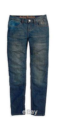 Harley-Davidson Jeans Pantalon de moto Bikerhose Femme EC-99185-14VWith1600