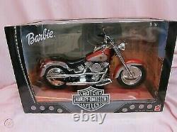 Harley Davidson Moto Pour Barbie Poupée