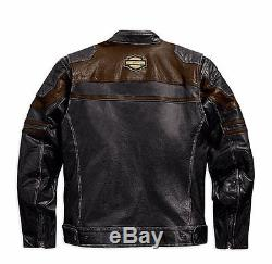 Harley-Davidson Moto Veste en cuir HARD MILE Taille M Maille 97062-15VM/000M