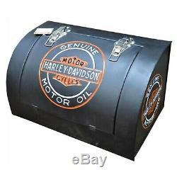 Harley Davidson Mural Outil Boite Reproduction Moto Garage Hangar
