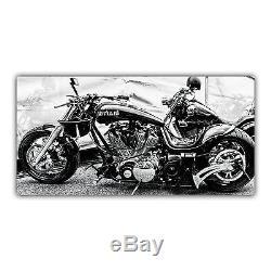 Harley Davidson Tableau Poster Décoration Photo Moto Custom Biker USA ARIMAJE