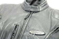 Harley Davidson Veste Cuir M Noir Fxrg Imperméable Doublure Armure