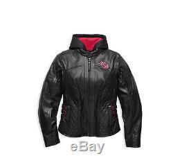 Harley-Davidson Veste de moto SCROLL TÊTE MORT Cuir 98104-16VWith000M Taille M
