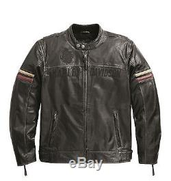 Harley-Davidson Veste en cuir CHAROGNARD Veste moto 97092-16VM/002L Taille XL