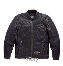 Harley-Davidson Veste en cuir RALLIER CAVALIER moto 97080-16VM/002L Taille XL