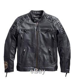 Harley-Davidson Veste en cuir TÉLESCOPE Veste moto 97096-16VM/000M Taille M
