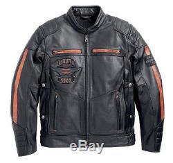 Harley-Davidson Veste pour moto EXMOOR Taille L Veste en cuir 97106-16VM/000L