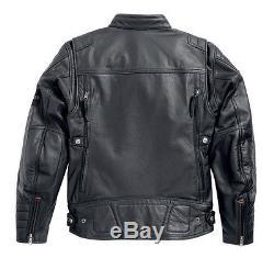 Harley-Davidson Veste pour moto EXMOOR Taille M Veste en cuir 97106-16VM/000M