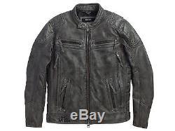 Harley-Davidson Veste pour moto TOURIE Taille XXL Veste en cuir 97105-16VM/022L