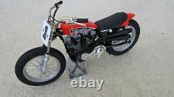 Harley Davidson XR750 1972 110 célébres US course moto 8 Pouces. Long withboîte