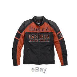 Harley-Davidson veste de moto fonctionnelle GASTONE Textile 98112-16VM/002L