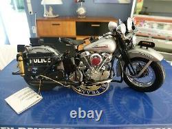 Harley-davidson maquette franklin mint