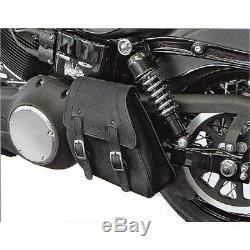 Held Springdale Noir Moto Harley-sac Pour Harley Davidson Softtail Modèles