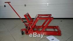 LEVE MOTO HYDRAULIQUE pour Motos HARLEY DAVIDSON / STAND BIKE LIFT 680 KG